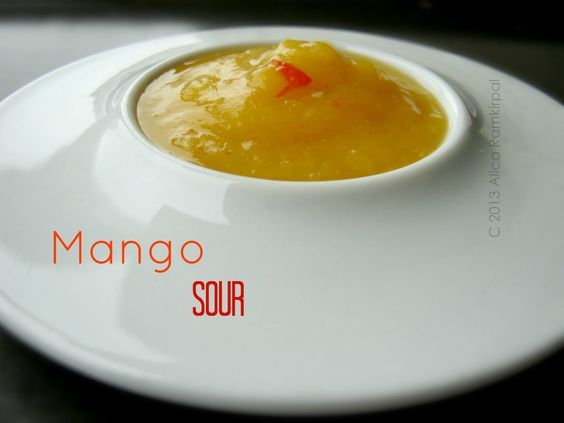 Guyanese mango sour has an intensely tangy and sour taste that pairs so well with fried appetizers such as cassava balls, pholourie and plantain chips.