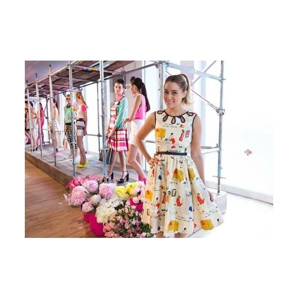 Неделя моды в Нью-Йорке Виктория Бекхэм, Эшли Грин, Кейт Босуорт,Лорен... ❤ liked on Polyvore