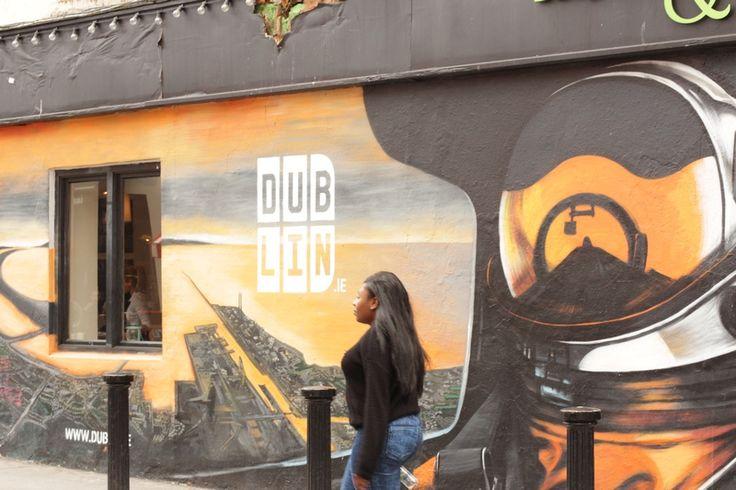 Graffiti by Shane Sutton, Artist in Dublin, Ireland