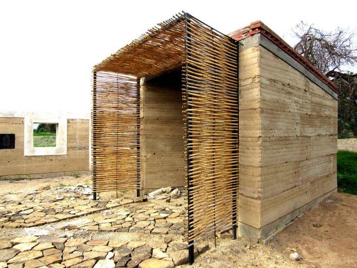 Arquitectura de tierra, cal y bambú en Oaxaca