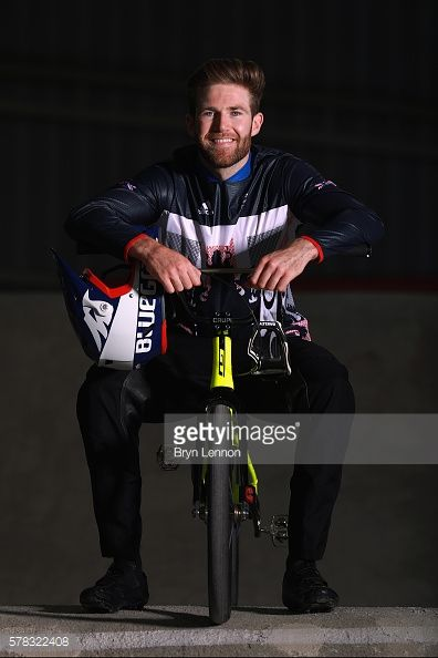 MANCHESTER, ENGLAND - JULY 21: Team GB BMX rider Liam Phillips... #bucknellgb: MANCHESTER, ENGLAND - JULY 21: Team GB BMX… #bucknellgb