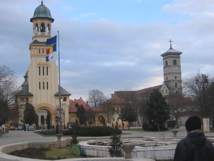 Alba Iulia two Cathedrals