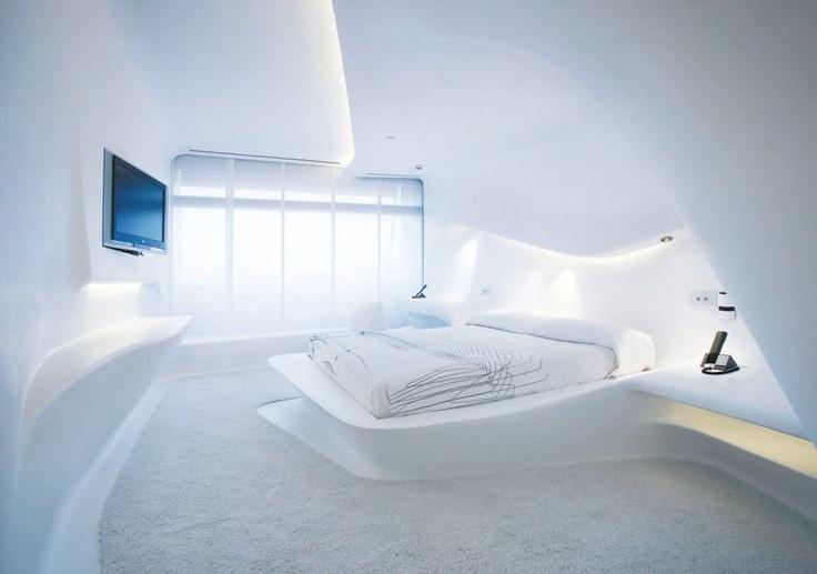 raphael vargas ein bett das aus der wand zu kommen scheint im hotel siken puerta am rica in. Black Bedroom Furniture Sets. Home Design Ideas