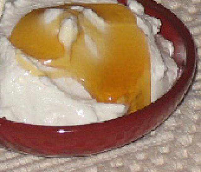 Learn to Make Authentic Greek Yogurt Like a Pro: Thick Greek yogurt with honey