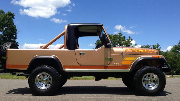 1984 Jeep CJ-8 Scrambler presented as Lot F184 at Harrisburg, PA