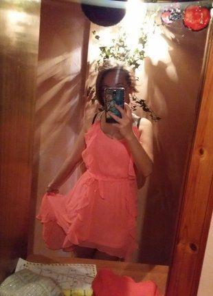 Kup mój przedmiot na #vintedpl http://www.vinted.pl/damska-odziez/dlugie-sukienki/15669005-asymetryczna-sukienka-tally-weijl-rozowa