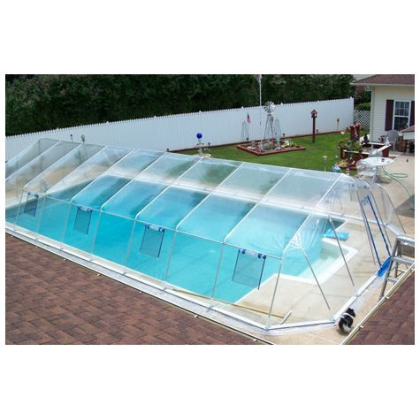 Picture of In Ground Pool Dome Enclosures