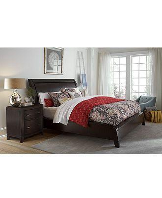 Morena Queen Bed - Beds - Furniture - Macy\'s | bedroom | Pinterest