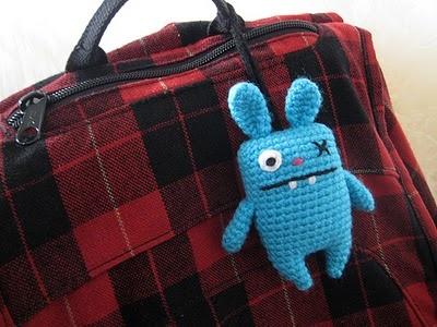 crocheted ugly doll bunny [ Free Crochet Pattern ]