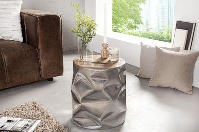 Luxusný nábytok REACTION: Malý stolík SYMBIOSE.