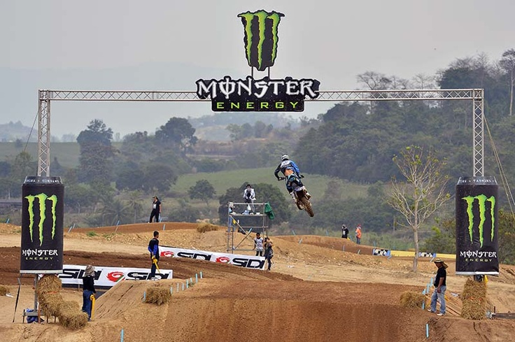 MX2 Charlier at the finish line in MXGP Thailand 2013