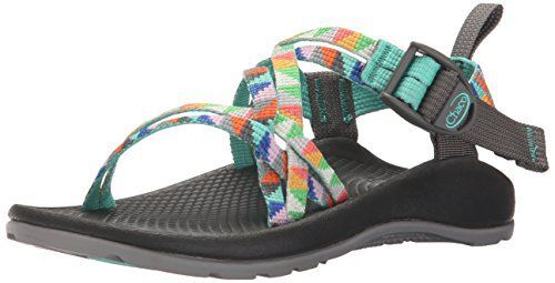 A webbing pattern inspired by the classic basket weave, two narrow polyester straps in the custom adjusted system offer a more secure fit by conforming to the curves of mini feet. Chapu™ midsole on the contoured luvseat™ platform footbed provides lasting arch support and body alignment for... http://shoes.bestselleroutlet.net/product-review-for-chaco-zx1-ecotread-sandal-toddlerlittle-kidbig-kid/