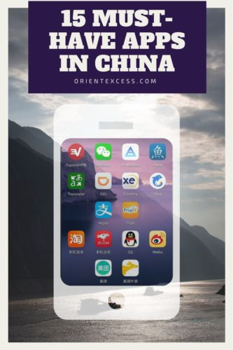15 apps you might want to download if you're going to China. 10 for travellers and 5 if you're settling.