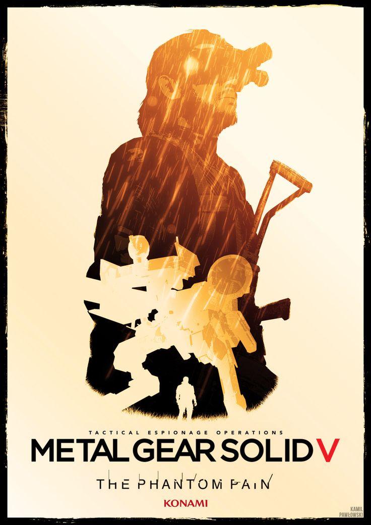 metal gear solid V phantom pain poster by Katecheta.deviantart.com on @DeviantArt