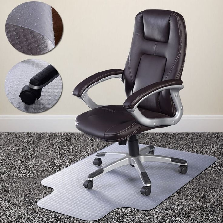 Standard Pile Carpet Protecting Chair Pad Office Computer