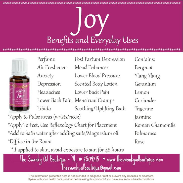 "Bring ""Joy"" to your life with this essential oil!!  Check out this blog for just a few of the ways you can use Joy!!"