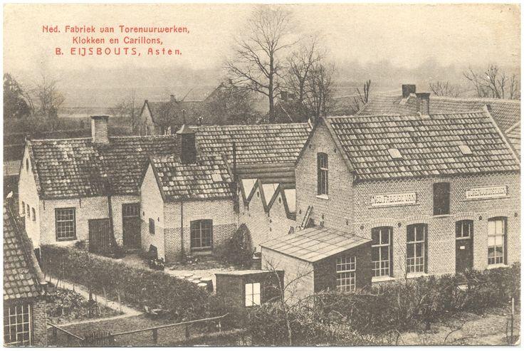 Eijsbouts, fabriek van torenuurwerken, Torenstraat 1900-1910
