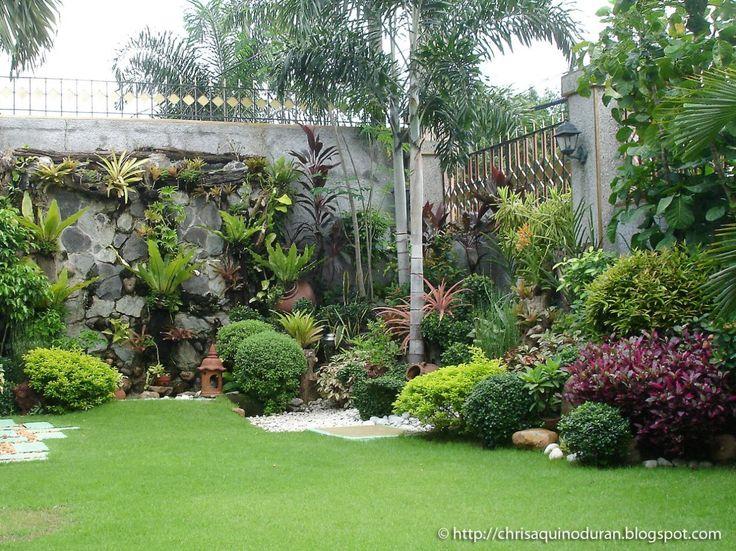 20 fascinating backyard garden designs tropical iowa for Garden design zone 8