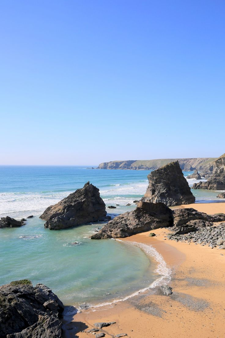 Bedruthan Steps, Cornwall - Photo by Rebecca Bentley