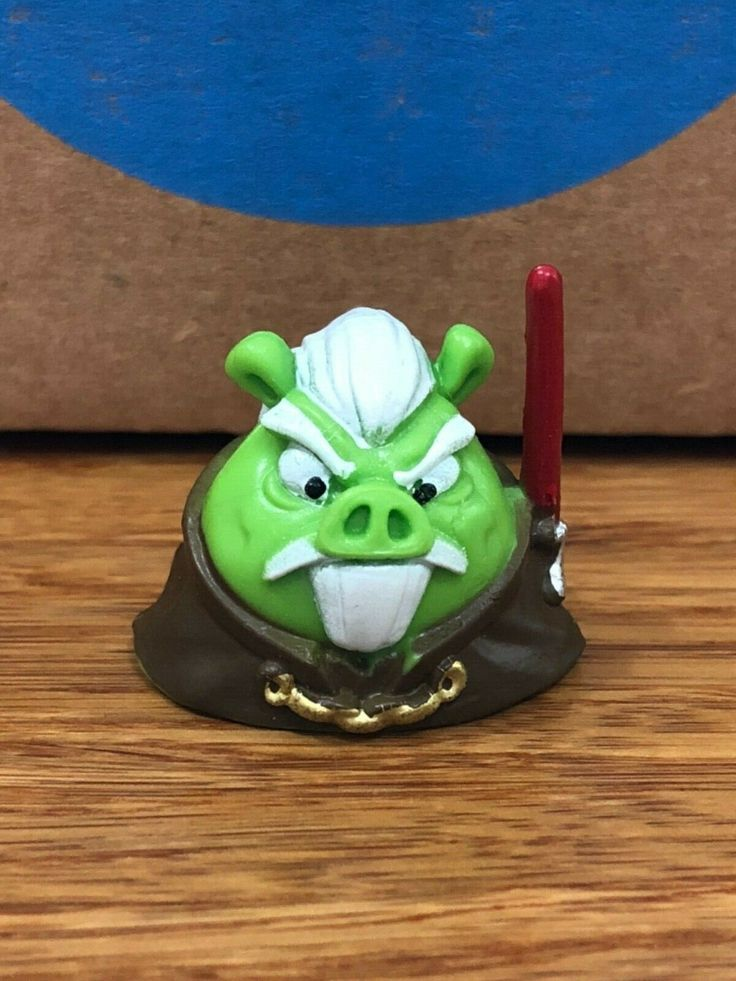 ANGRY BIRDS STAR WARS TELEPODS Count Dooku Pig with QR