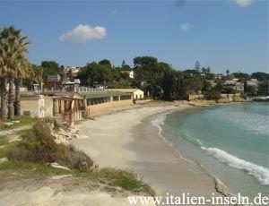 Fontane Bianche in der Provinz Siracusa - Syrakus auf Sizilien http://www.italien-inseln.de/siracusa/syrakus.html