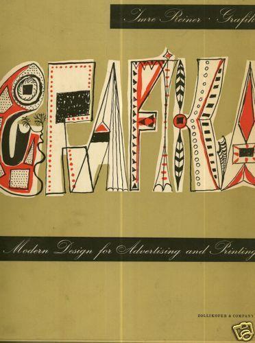 GRAPHIKA = Modern Design for printing par Imre REINER