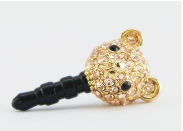 Cute Bear Phone Ear Cap. Price $19.99  / 곰돌이 폰캡