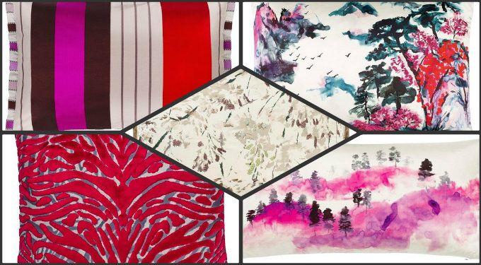 #designersguild #forår #sommer 2015 kollektion #farver #puder #plaider