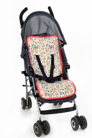 Your kids deserve the best of everything! Chemical free Universal Organic Pattern Stroller Liner - Coral Pink. Get 15% when you sign up to our email list.