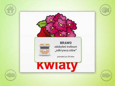 This is an easy educational app designed to help children recognize and read Polish  words. Good and simple practice for kids to play with Polish language. #KiddyReader #kiddystarter