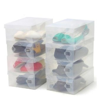 Buy Transparent Clear Plastic Shoe Boxes Foldable online at Lazada. Discount prices and promotional sale on all. Free Shipping.
