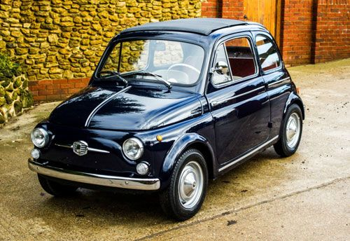 An incredibly cool 1960s Fiat 500 D Trasformabile car on eBay | pimp