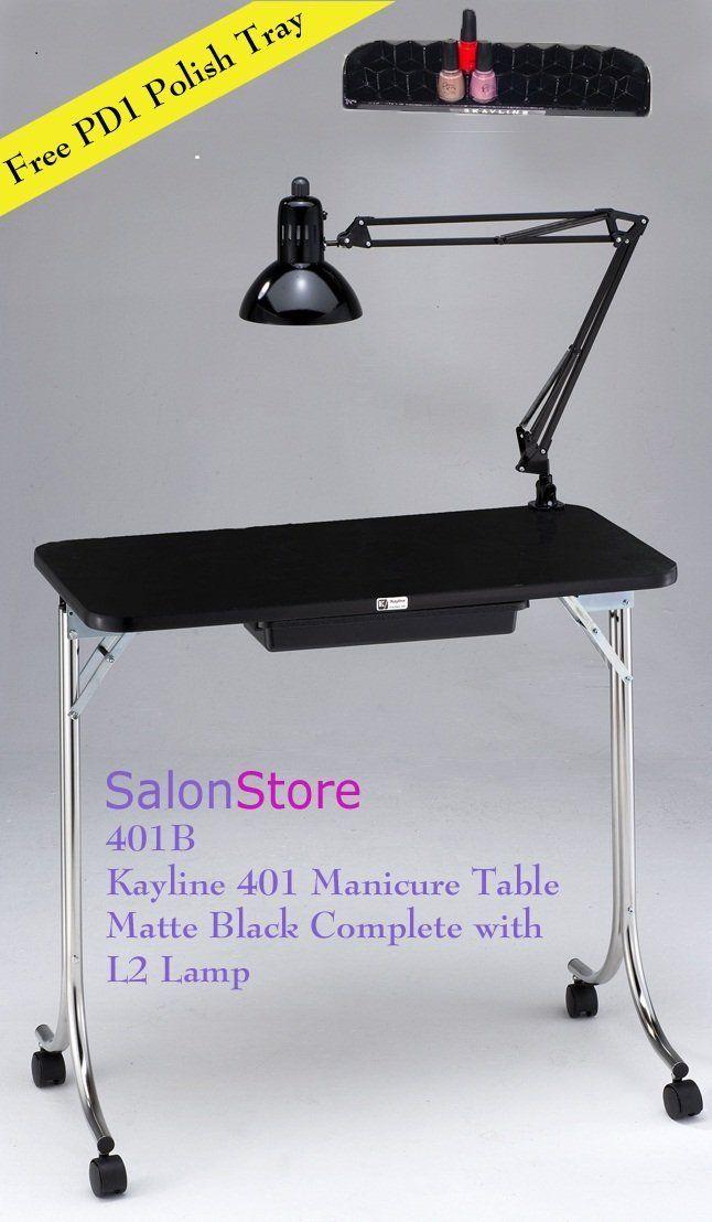 kayline 401 portable mini nail table manicure table free pd1 polish rh pinterest ca