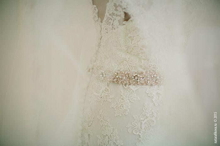 Свадебное платье. Фотограф Ната Рафикова