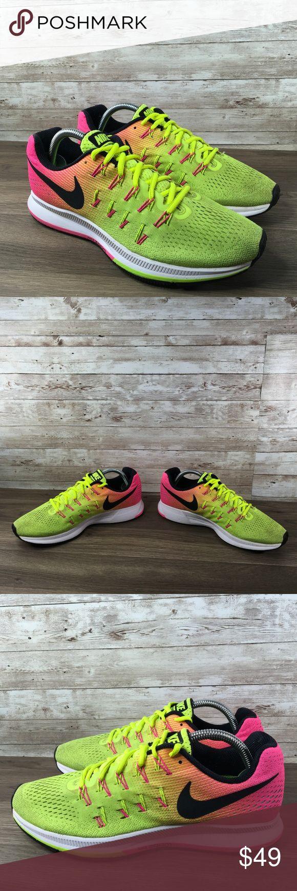 Nike Zoom Pegasus 33 Rio Olympic Limited Edition Gently used. Smoke free. No box…