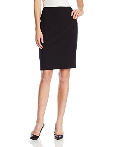 Nine West Women's Bi Stretch Skirt, Black, 2 * You can find out more details at the link of the image.