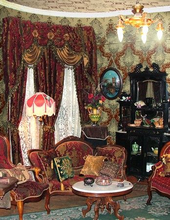 Victorian Interiors | Aesthetic Interiors - Historic Wallpapers - Victorian Arts - Victorial ...