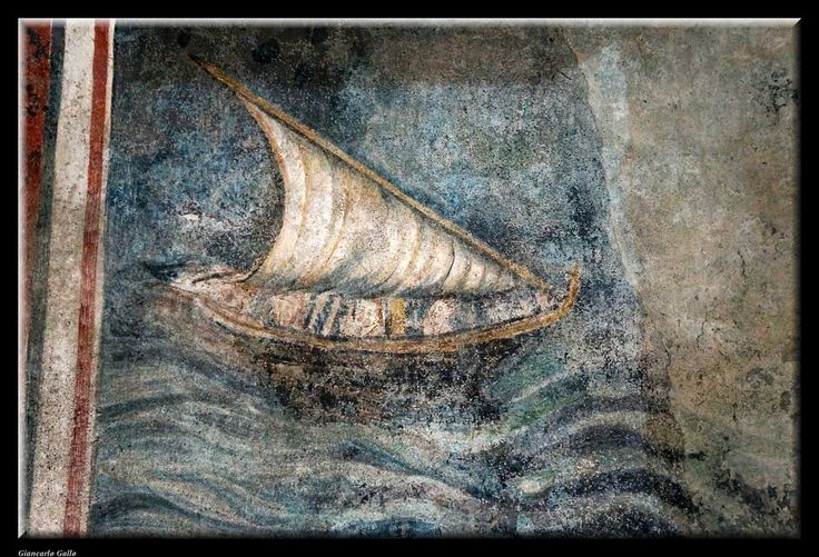 The sailboat on the wall by Giancarlo Gallo