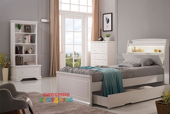 Best Amber Trundle Bed With Storage Bedhead Single Or King 400 x 300
