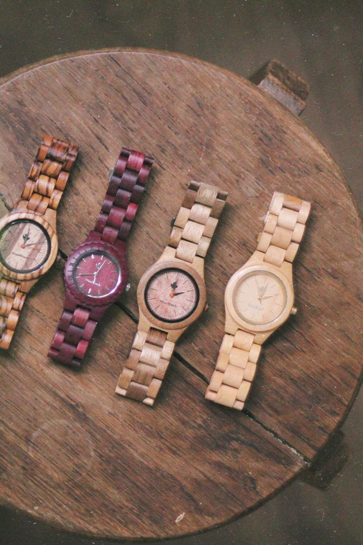Our women watches vary in design and wood used, making each and every one of them unique.