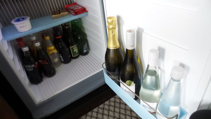 Mini Bar at the Langham Auckland Hotel in New Zealand