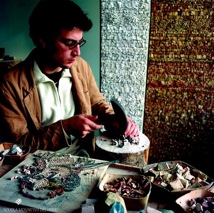 Scuola Mosaicisti del Friuli, Spilimbergo, Italy- Mosaic School