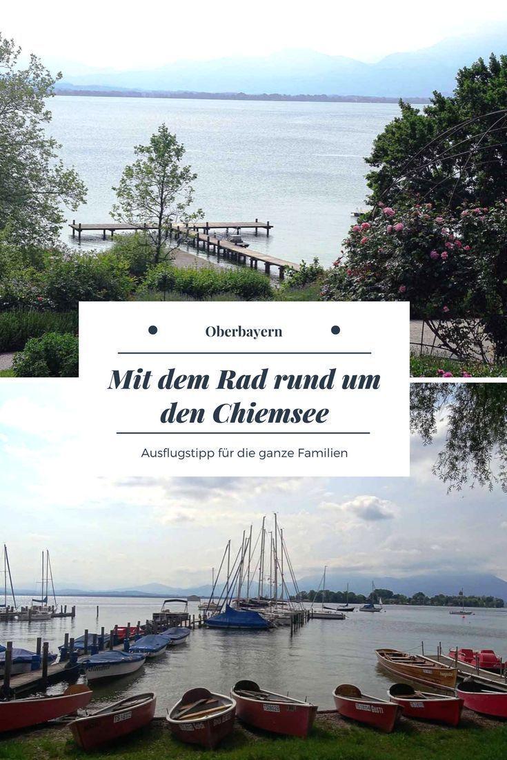 Chiemsee Radweg Der Ausflugstipp In Oberbayern Ausflug Fahrradtour Reisen