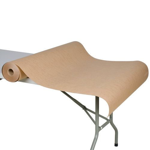 "40"" x 300' 60# Brown Paper Roll Table Cover (For The Kids Table)"