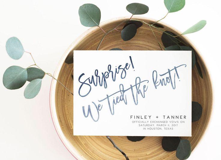 Elopement Wedding Invitations: Best 25+ Elopement Reception Ideas On Pinterest