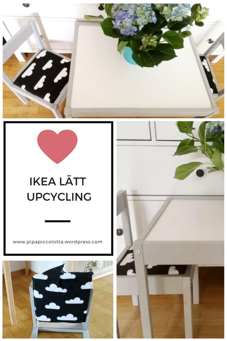 Ikea Lätt Kindertisch Und Stühle Upcycling