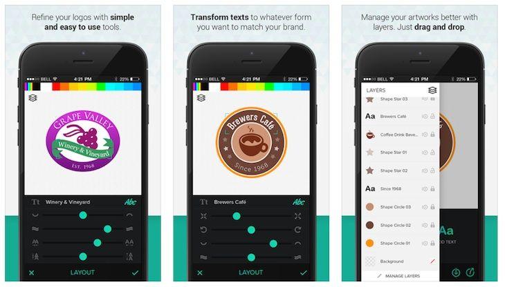 #Programación_y_Diseño #android #aplicaciones Logo Foundry, app para crear logos profesionales desde iOS y Android