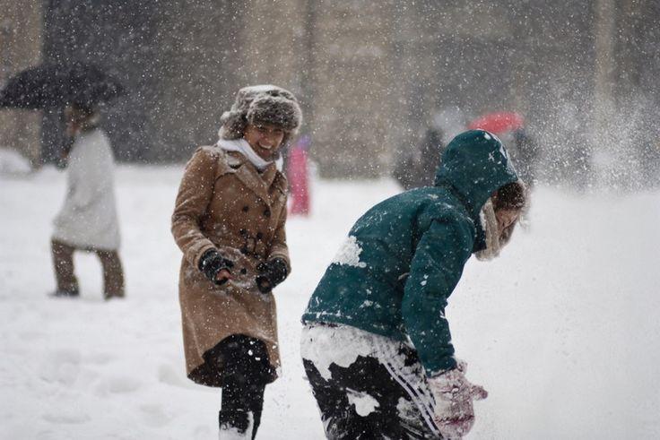 ciocci - smiling in the snow