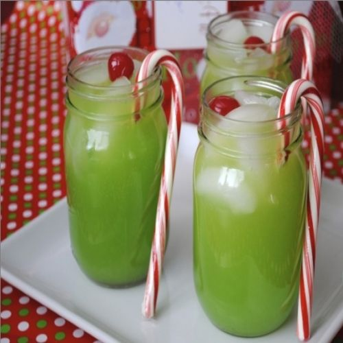 The Grinch Cocktail | Recipe | Grinch, Beverage and Bartenders