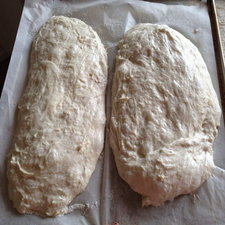 Recipe Easy Ciabatta Bread by ThermoMiss - Recipe of category Breads